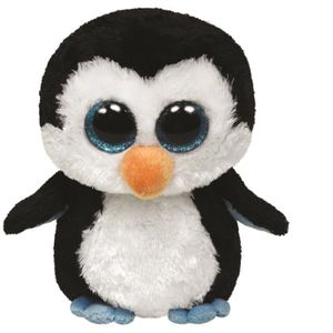 PELUCHE TY - BEANIE BOO'S Peluche Waddles Pingouin 23cm