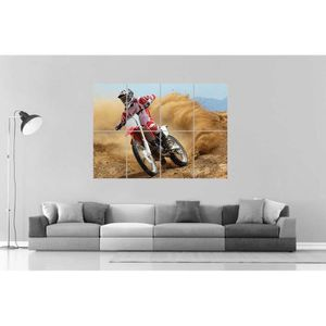 AFFICHE - POSTER MOTOCROSS 01 Poster Grand format A0 Large Print