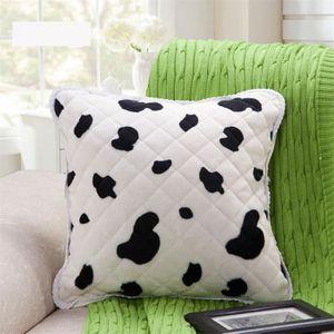 housse de coussin imitation fourrure achat vente. Black Bedroom Furniture Sets. Home Design Ideas