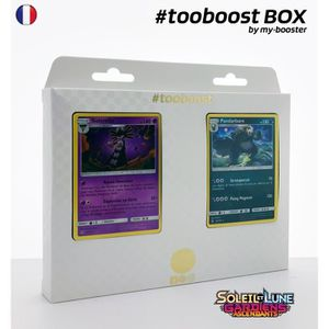 CARTE A COLLECTIONNER Coffret #tooboost SIDERELLA et PANDARBARE - SM02 -