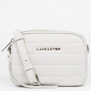 6b2f782d16 SAC À MAIN Lancaster - Mini sac trotteur zippé Blanc Cassé F