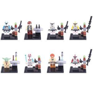 personnages lego star wars achat vente jeux et jouets pas chers. Black Bedroom Furniture Sets. Home Design Ideas