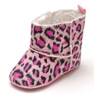 BOTTE Libaib Bébé Bottes de neige Lit souple Chaussures