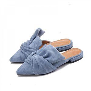 2050a1f5093c7 CHAUSSON - PANTOUFLE Chausson femme mode bleu Mode Mules Beige Troupeau ...