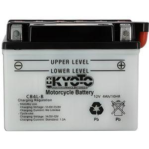 BATTERIE VÉHICULE KYOTO - Batterie moto - Yb4l-b - L 121mm W 71mm H