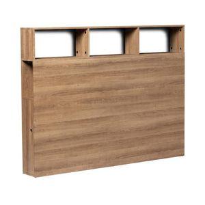 TÊTE DE LIT Tête de lit aménagée Bois 165 cm - BELLINA - L 165