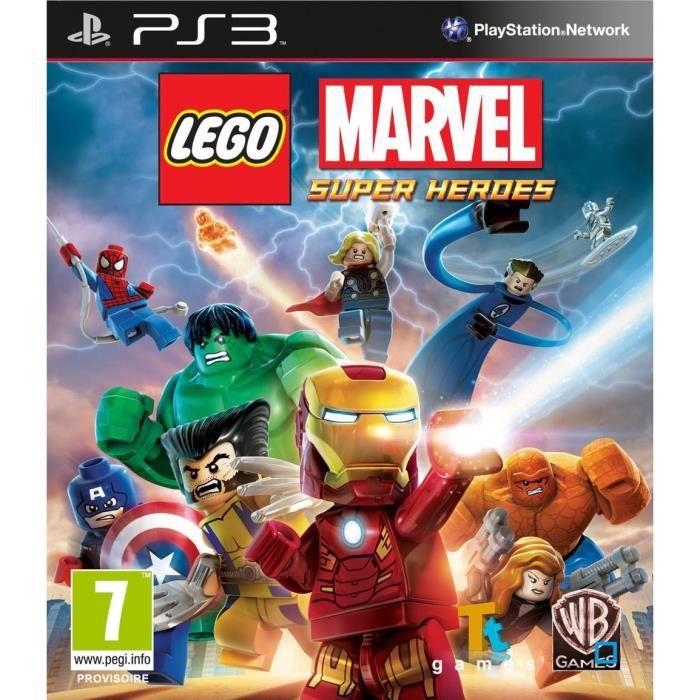 Lego marvel super heroes jeu ps3 achat vente jeu ps3 lego marvel super heroes ps3 cdiscount - Jeux de lego sur jeux info ...