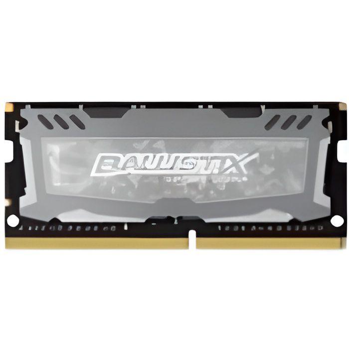 BALLISTIX Mémoire PC Sport LT Gris - DDR4 - 4GB - 2400 MHz - SODIMM