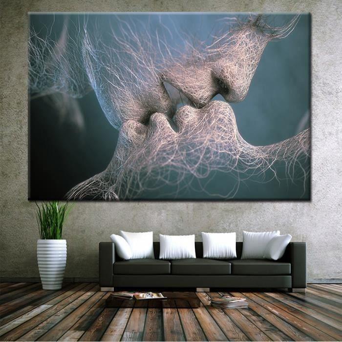 tableau deco noir et blanc achat vente pas cher. Black Bedroom Furniture Sets. Home Design Ideas