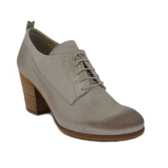 Chaussures à lacets Osvaldo Pericoli taupe Casual femme rqou1