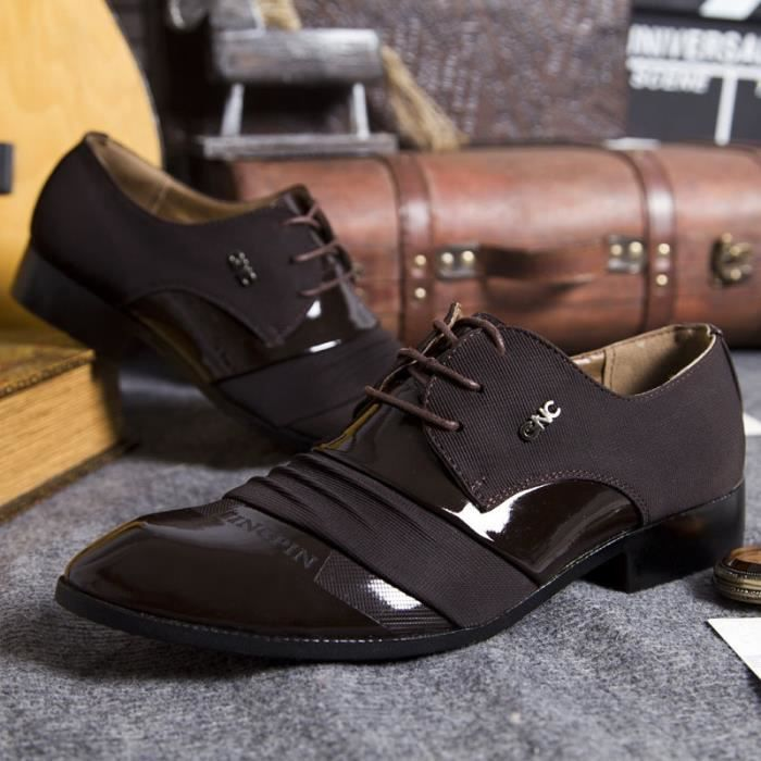 formel Oxfords Hommes Chaussures originales Robe on d'affaires Slip Sapatos hommes main chaussures Les de mariage nouveaux xXRwvq0nF