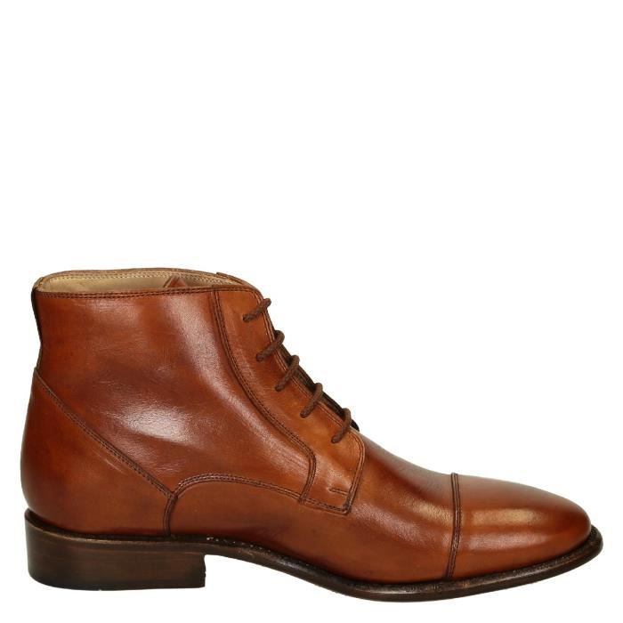 CUIR HOMME PINA3022CAVALLOCUOIO BOTTINES SHOES BOTTINES PINA3022CAVALLOCUOIO HOMME MARRON CUIR LEONARDO SHOES LEONARDO MARRON LEONARDO xBn7qZZfFw