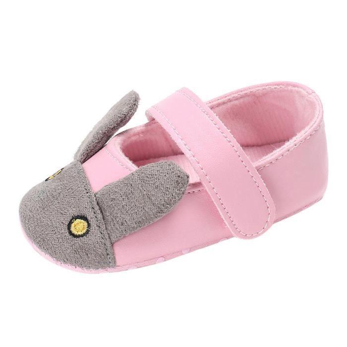 BOTTE Bébé nourrisson enfants fille douce semelle enfant nouveau-né chaussures@RoseHM JFPs092