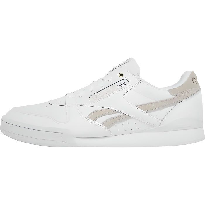 7cff2f7c14935 Reebok Homme Chaussures   Baskets Phase 1 Pro Mu Blanc - 463805 ...