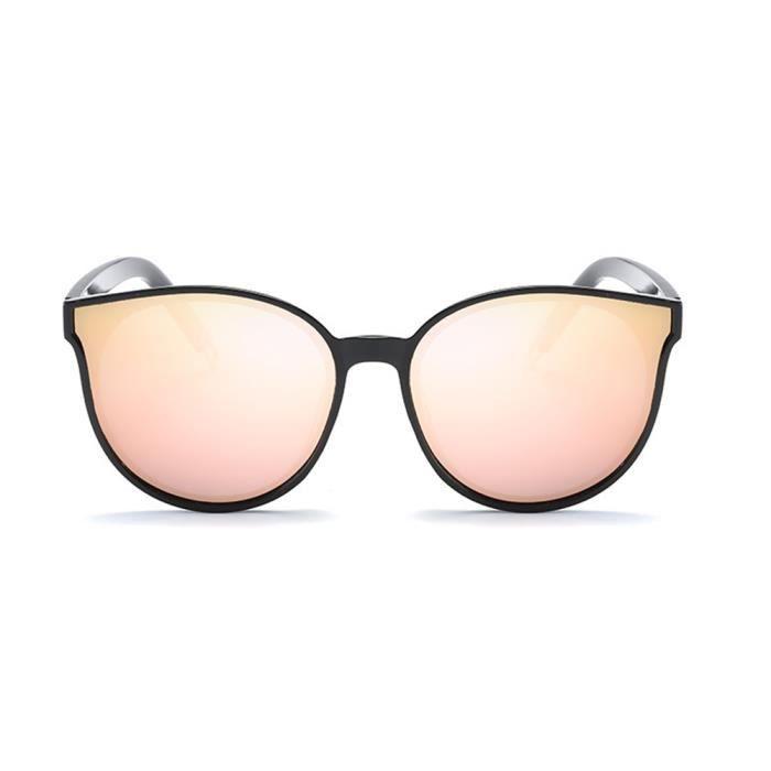Noir Lunettes Luxe soleil sunglasses femme de Moderne marque de polarisées Fashion Armature Noir 7a7p4q