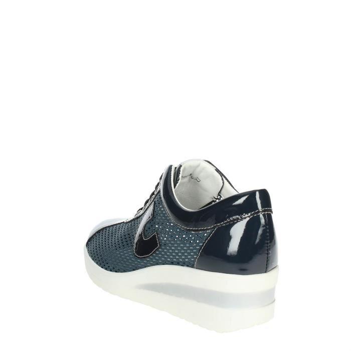Femme Sneakers 37 Soft Cinzia Petite Bleu t1wn8