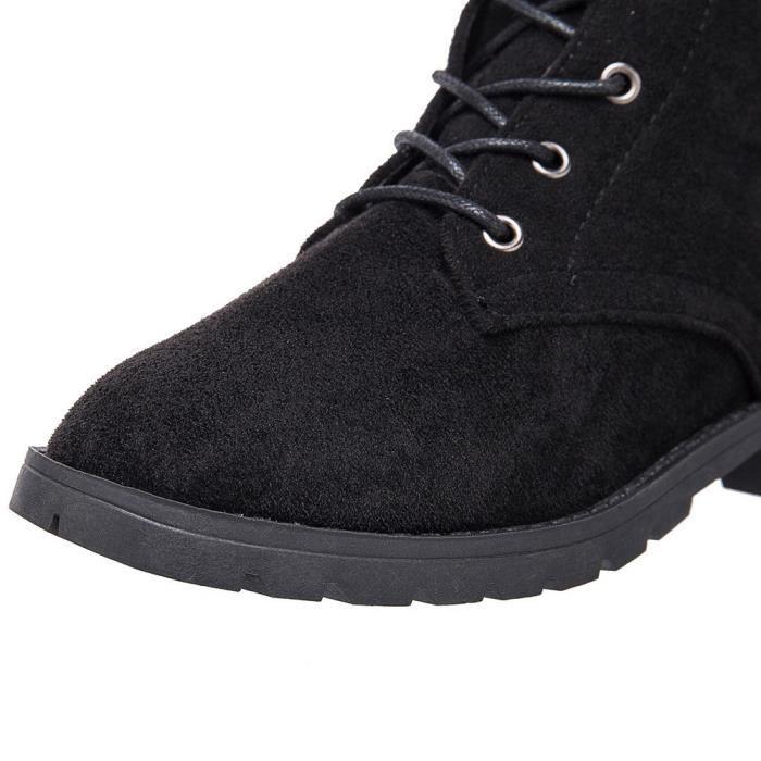 Bottes noir De Plateforme Liées Talon Chaussures Femmes Cuissardes Plat Les Spentoper Croisées HpxqYwa