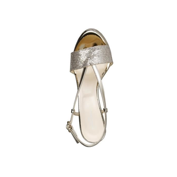 Made in Italia - Sandales pour femme (REGINA_PLATINO) - Jaune