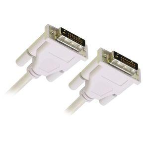 CÂBLE AUDIO VIDÉO APM Câble DVI Double Link 24+1 M / M - 1.8m