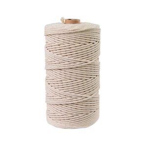 DISTRIBUTEUR DE COTON 50M coton naturel souple non teint corde pour la f