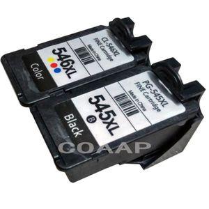CARTOUCHE IMPRIMANTE 2 Pack PG-545XL CL-546XL Cartouches d'encre compat