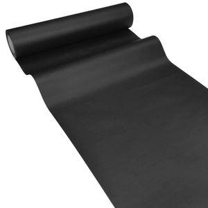 chemin de table papier noir - achat / vente chemin de table papier