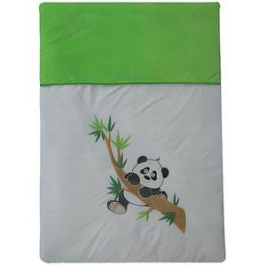"""COUVERTURE - PLAID BÉBÉ Couette Édredon 120x80 cm  """"thème Panda"""""""