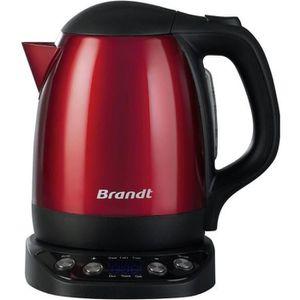 BOUILLOIRE ÉLECTRIQUE Bouilloire rouge - Brandt BO1200ER