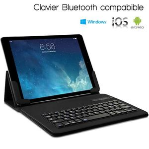 CLAVIER POUR TABLETTE Étui Clavier Azerty Bluetooth Universel L pour Hua