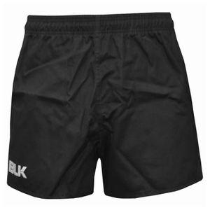 SHORT DE RUGBY Short Rugby BLK Coton noir