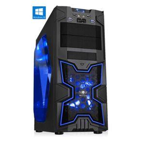 ORDINATEUR TOUT-EN-UN PC Gamer XFighters Bleu - A4-6300 - 8GO RAM - 1000