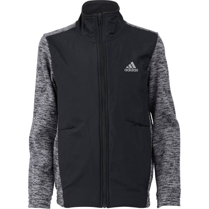 ADIDAS Sweatshirt ID Warm - Enfant garçon - Noir