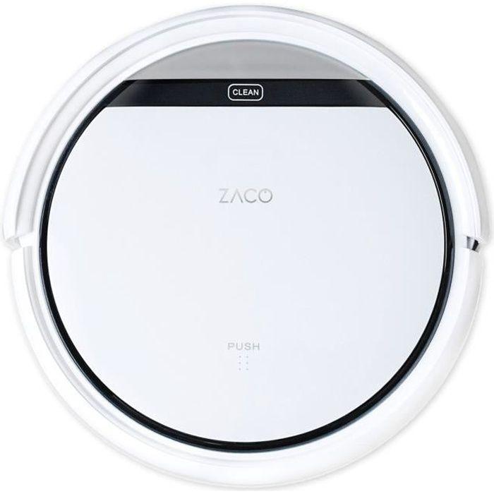 ZACO V3s PRO - Robot Aspirateur - Autonomie 120min - Réservoir 300ml - Puissance 20W