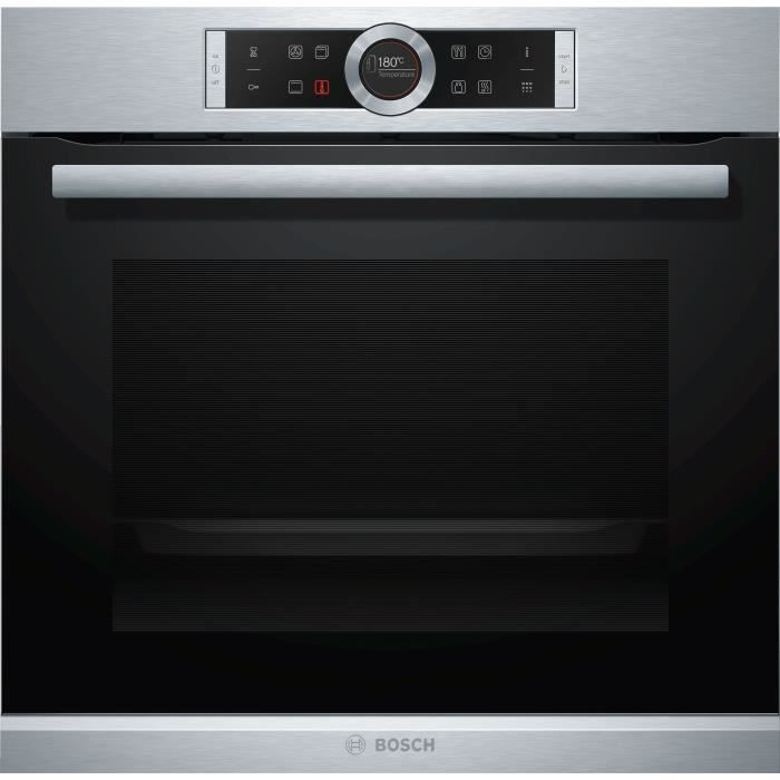 BOSCH HBG675BS2 Four multifonction pyrolyse 71 l - Classe A+ - 13 modes - Inox