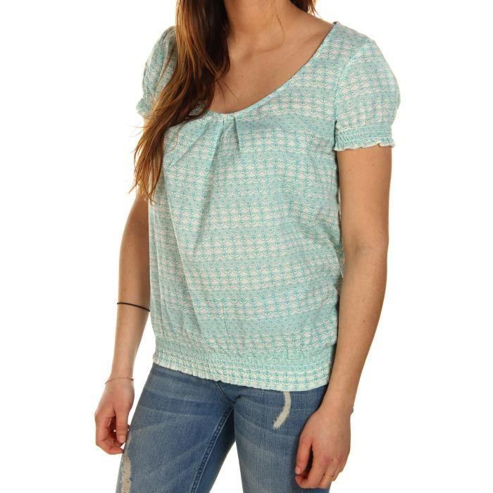 ROXY T-shirt Agnes Wan - Femme - Bleu