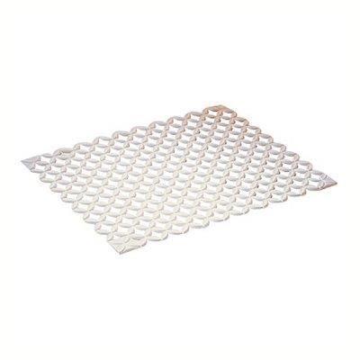 TAPIS D'ÉVIER Tapis d'évier plastique blanc découpable 43x35 cm*