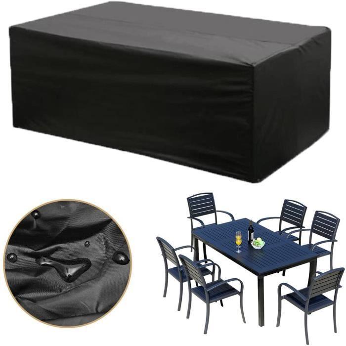 housse table de jardin achat vente housse table de. Black Bedroom Furniture Sets. Home Design Ideas