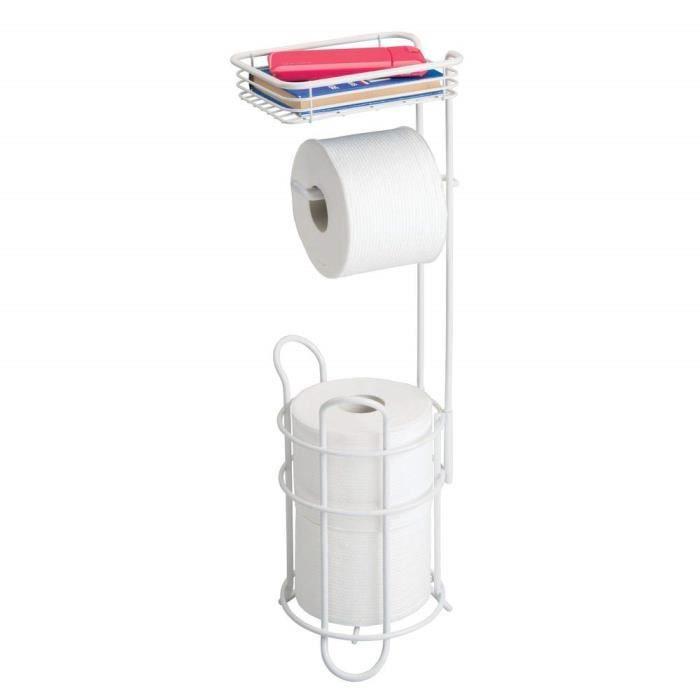 rangement pour rouleaux papier toilette. Black Bedroom Furniture Sets. Home Design Ideas