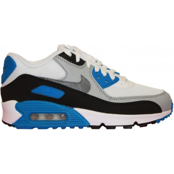 NIKE AIR MAX 90 MESH JUNIOR BLANC sze4RzNR