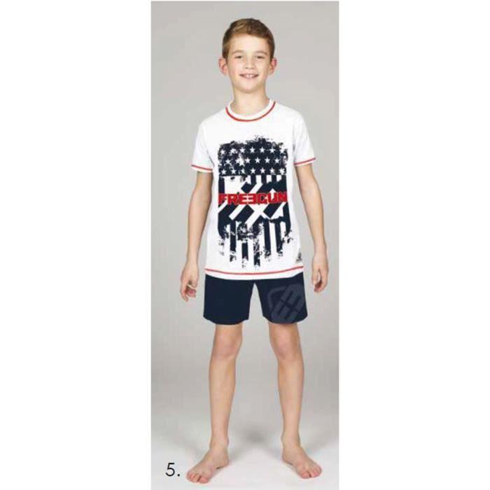 d41f0517392c7 Freegun Pyjama Court Enfant Liberty Multicouleur - Achat / Vente ...