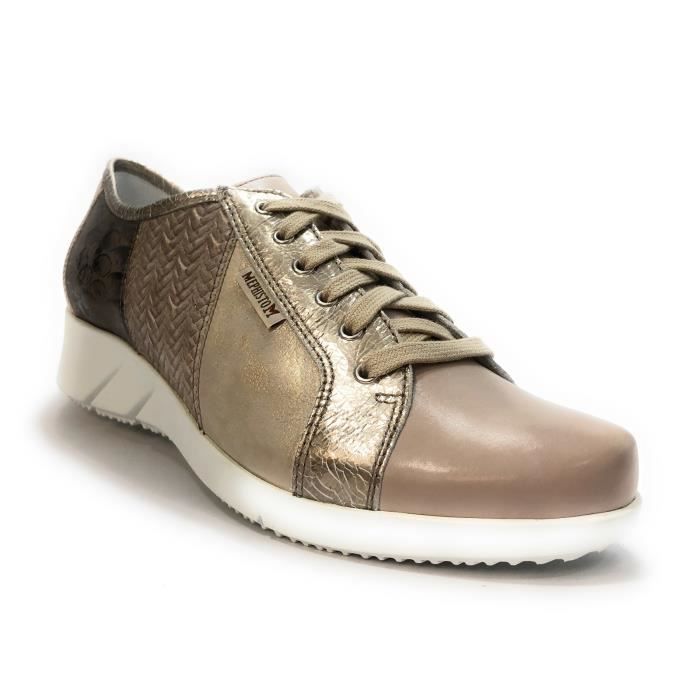 Lacets Melina Cuir Chaussures Mode Baskets Mephisto YOnf7Tq