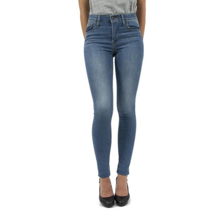 Vente Rise High Bleu Skinny Jeans 721 Levis Achat x7n06wT