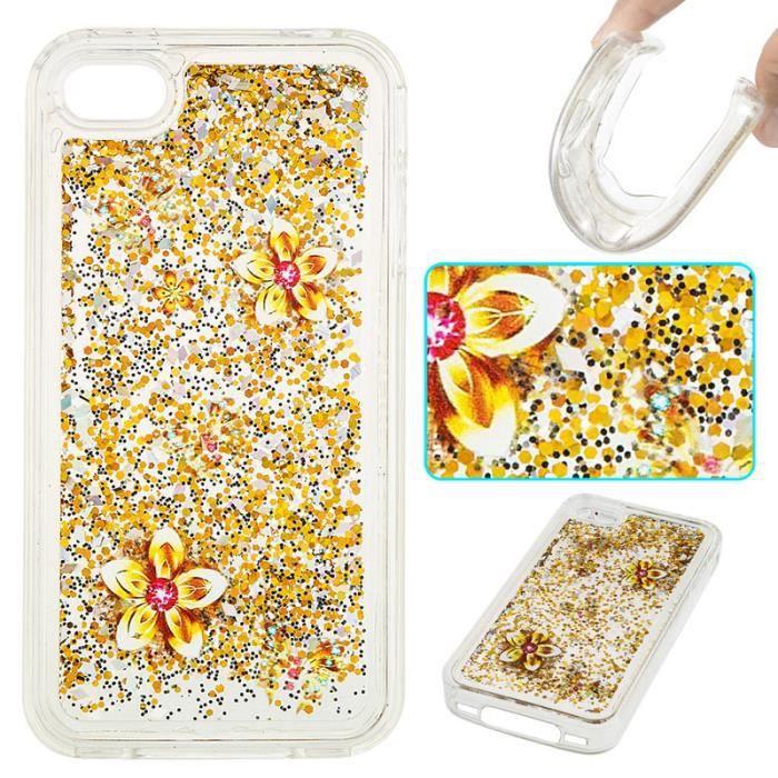 coque iphone 4 liquide sable