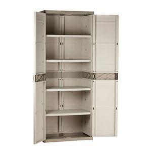 armoire de rangement jardin achat vente armoire de. Black Bedroom Furniture Sets. Home Design Ideas