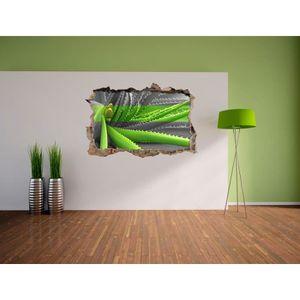 Stickers plantes vertes achat vente pas cher - Plante aloe vera chambre ...