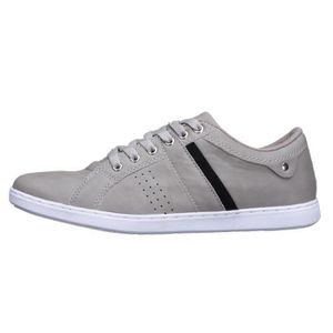 Chaussure Reservoir Shoes Anda Light Grey Suede OkblYE7T21