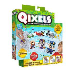Kit Design Recharges Métalliques Qixels (1200 recharges)