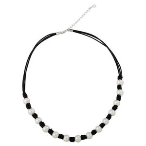 SAUTOIR ET COLLIER Craze collier de perles de culture d'eau douce noi