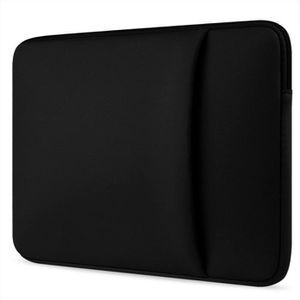 SAC À DOS INFORMATIQUE SACOCHE ORDINATEUR pour Macbook air pro13-Noir