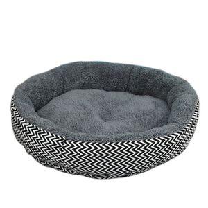 qianle panier chien chat forme ronde lit pour chiot. Black Bedroom Furniture Sets. Home Design Ideas
